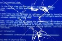 Не загружается компьютер, выдает синий экран.