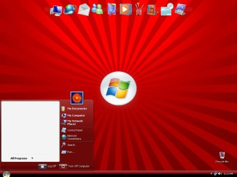 Windows Vista Red