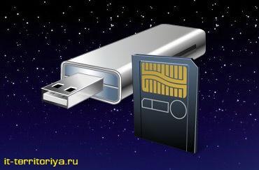 Как отформатировать флешку или карту памяти