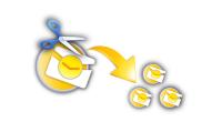 Как разбить файл / папку на части