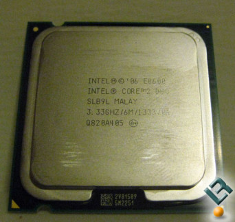 Intel E8600 Core 2 Duo Processor