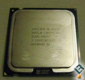 Intel E8600 Core 2 Duo Processor