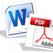 Как скопировать текст из PDF в Word