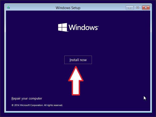 Как установить Windows 10 скрин 2