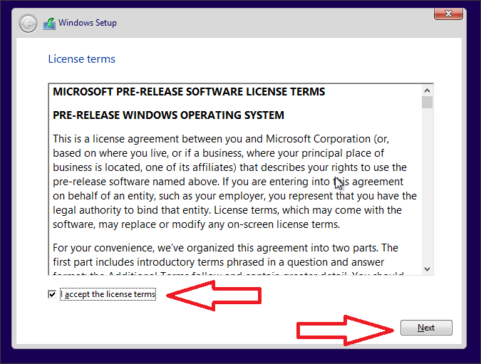 Как установить Windows 10 скрин 3