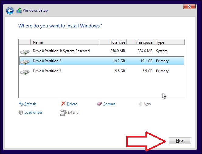 Как установить Windows 10 скрин 7