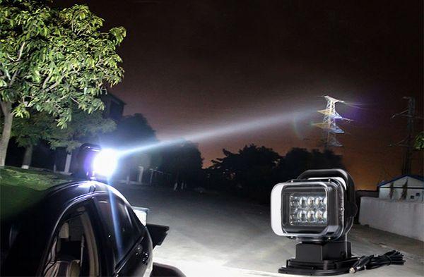 Ночная охота с фароискателем на автомобиле