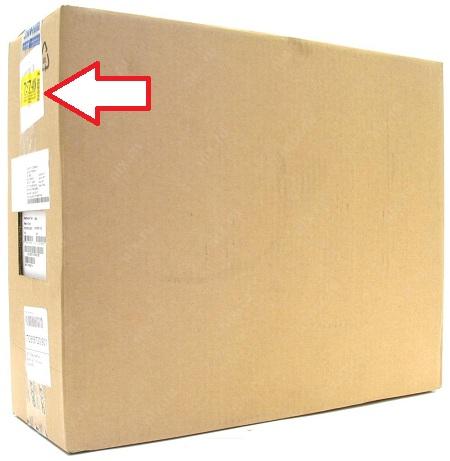 Коробка из-под ноутбука