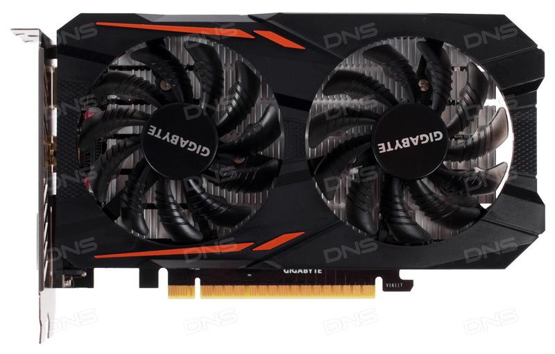 Видеокарта Gigabyte GeForce GTX 1050 OC [GV-N1050OC-2GD]