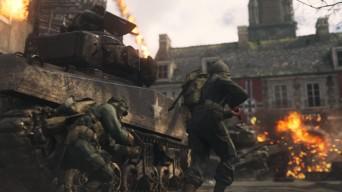 Call of Duty WWII скриншот