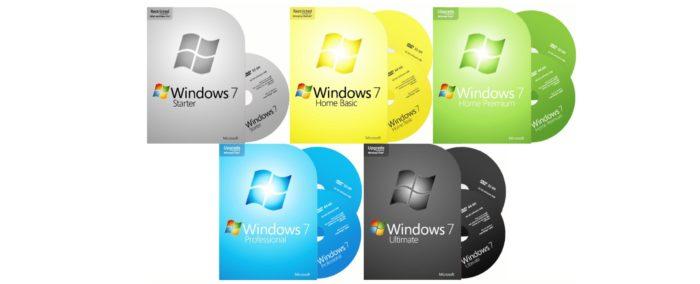 Какую версию Windows 7 выбрать для компа