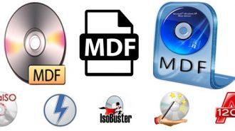 Как и чем открыть mdf файл в Windows 7 или 10