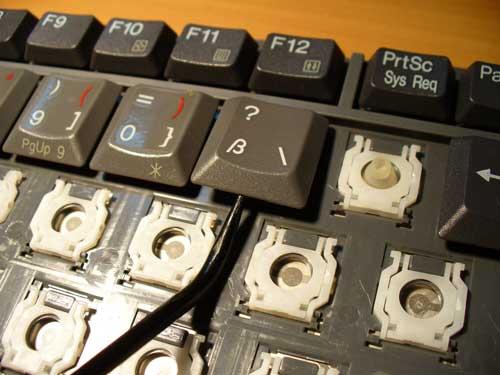 Кнопочки на ноутбуках Acer