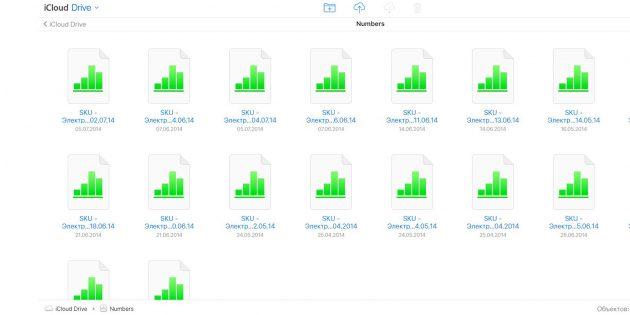 Облачное хранилище iCloud