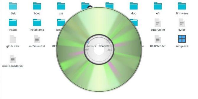 Как смонтировать ISO образ диска в Windows 8