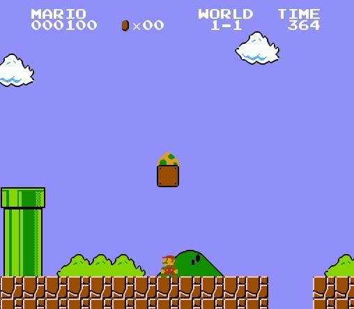 Супер Марио нашёл гриб с жизнью