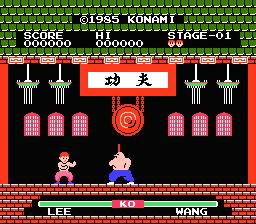 Kung-Fu 8 bit nes