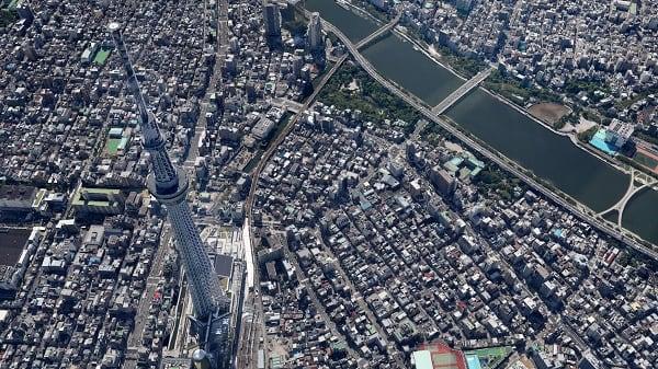 «Карты Гугл» позволяют насладиться видом некоторых геоточек в 3D
