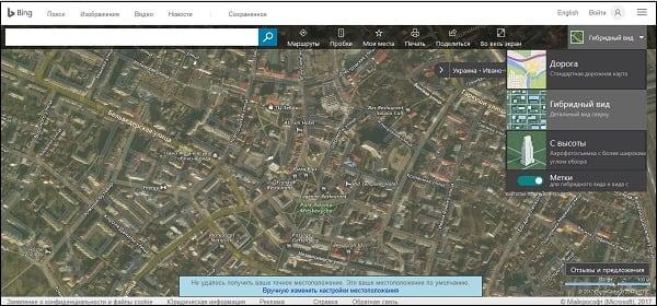 Карты от Bing.Maps