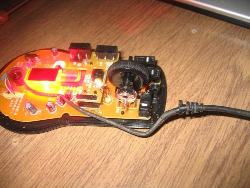 Оптическая мышь в разборе