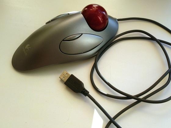 Трекбол мышь