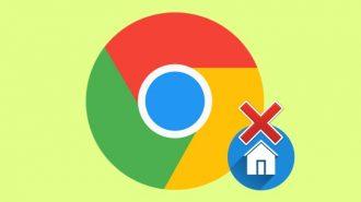Как удалить стартовую страничку в Гугл Хром