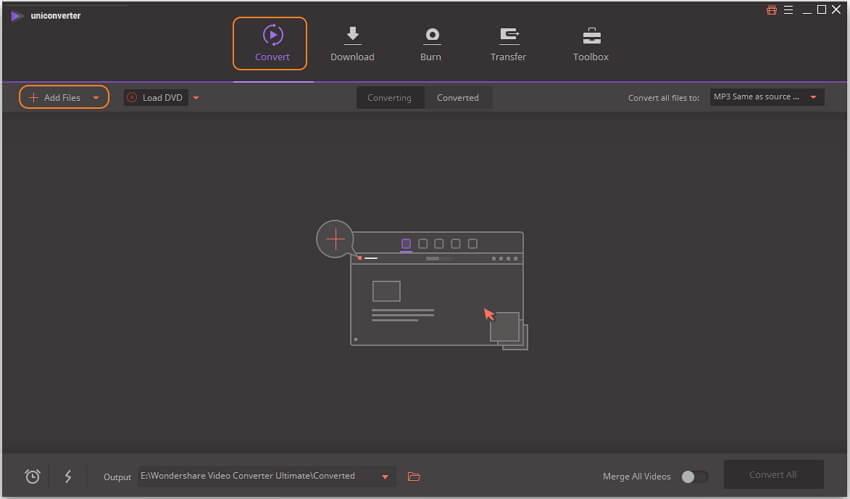 Добавить MP4 видео в программу
